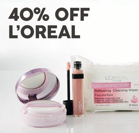 Target 部分化妆品品牌折扣:巴黎欧莱雅六折等