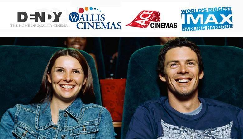 澳洲多家电影院电影票团购价每张$15!