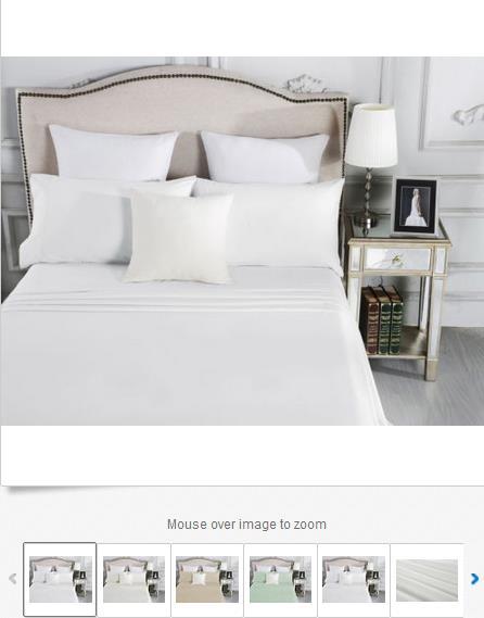 1500TC棉质床上用品套装 原价9 现价 .95!