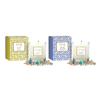 The Bling Candle Co.蜡烛 两只装 原价$78.95 现价$25!