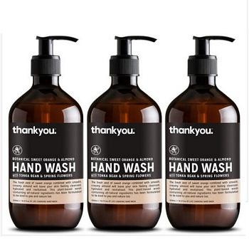 Thankyou 洗手液3瓶装 现价$16.99!