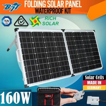 Rich Solar折叠太阳能面板 原价$321 现价$269!