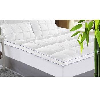 竹纤维双层床垫 最低$49!