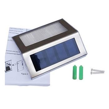 太阳能LED楼梯灯  4个只要$25!
