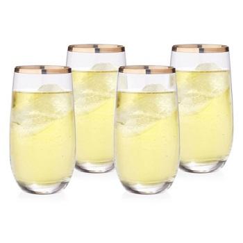 Rona玻璃酒杯四支装 现价 $28!