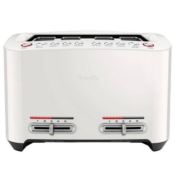 Breville 4片 智能烤面包机 白色 现价$109!
