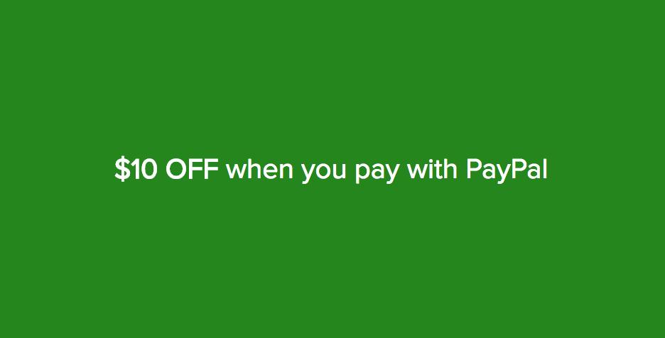 在 Woolworths Online 购物并使用PayPal付款 满$120立减$10!