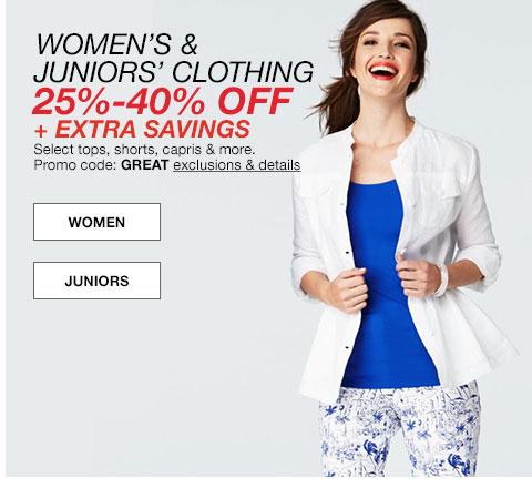 美国百货网站 Macy's 特价商品低至五折 使用折扣码后额外八折!