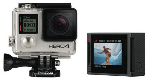 GoPro Hero4 银色版 运动相机 折后只要$420!
