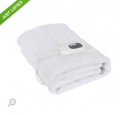 可水洗电热毯 团购价只要$57!