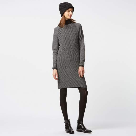 Uniqlo 优衣库 HeatTech 超保暖女子针织连身裙 现价$49.9!