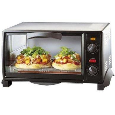 Sunbeam Mini Bake & Grill Oven BT2600 小烤箱 黑色 含邮价$57.91!