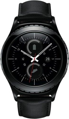 三星 Samsung Gear S2 智能手表 黑色皮带 折后$406.4!