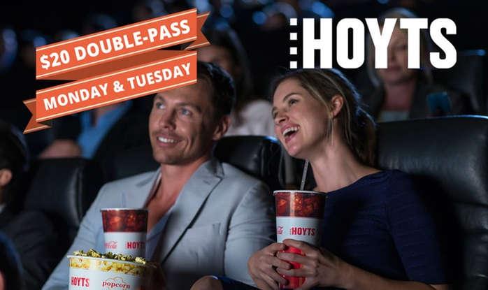 Hoyts 2人电影票 团购价只要$20!