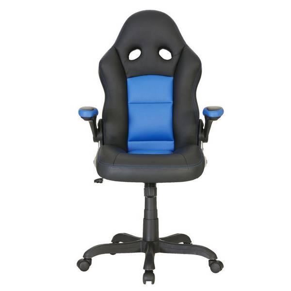 Bathurst 赛车手高级高背转椅 蓝黑色 $148!