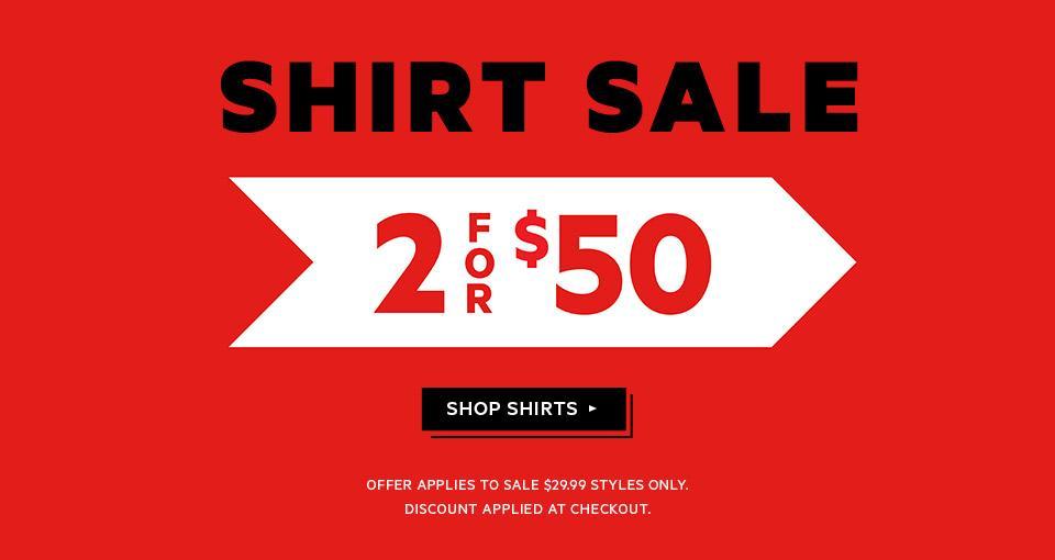 澳洲男装品牌 YD 男士衬衫 两件只要$50!