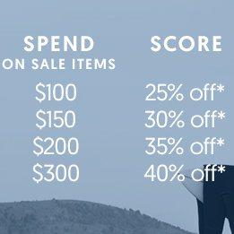 时尚网站 Surf Stitch 折扣类商品 最高额外再减40%!