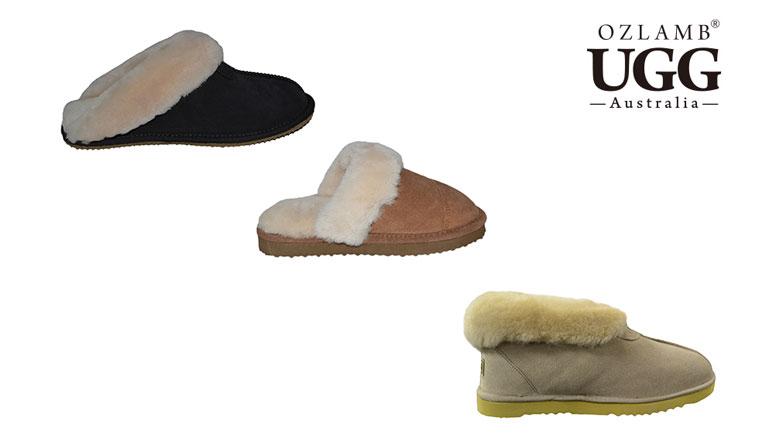 OZLAMB UGG 棉拖或室内棉鞋 团购价分别只要$39/$49!
