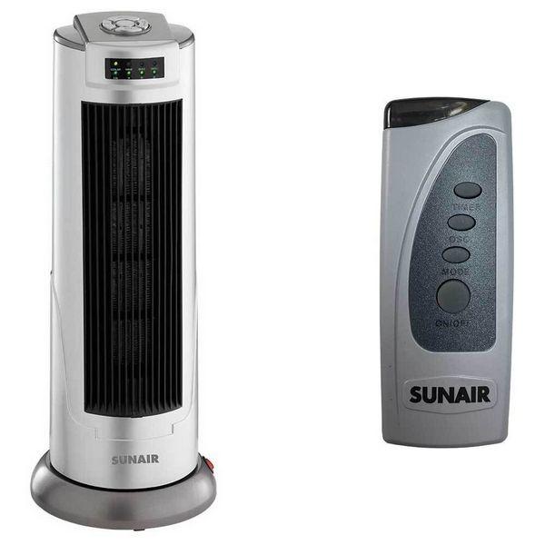 Sunair 2000瓦 塔型 陶瓷 电暖气 现价只要$59!