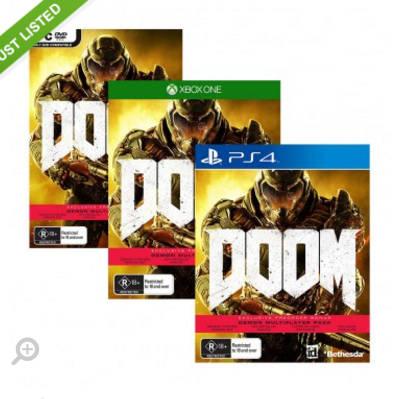 毁灭战士4 DOOM4 + 恶魔多人包 团购价只要$64!