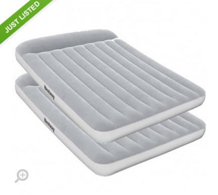 Bestway Queen Size 气垫床 两个团购价只要$89!
