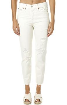 新 Levi'S 女子简易舒适白色凉鞋 $139.95