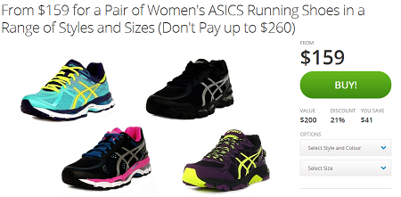 女士Asics跑鞋多种选择便宜购 现价$159