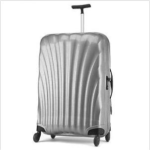 新秀丽 纯银色轻便行李箱  现价$509!