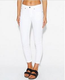 Dr Denim 女士白色休闲牛仔裤 $129.00