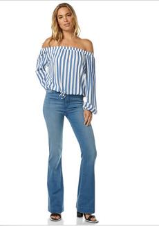 Lee女士简易高腰牛仔裤 $99.95