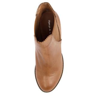Django & Juliette Sadore 棕褐色女鞋休闲靴踝靴  $199.95