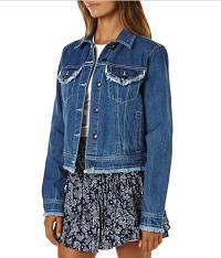 minkpink妇女蓝色女装牛仔夹克  $99.95