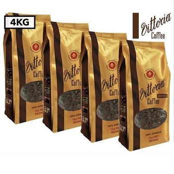 Vittoria咖啡豆 4kg 只要$69!