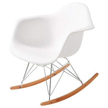 Replica Eames 白色摇椅 现价$29!