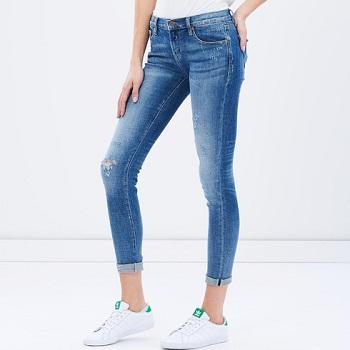 D-ID 女子紧身牛仔裤  现价$151.2!