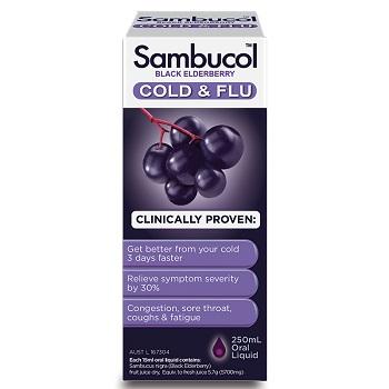 Sambucol 黑接骨木糖浆 现价$22.99!