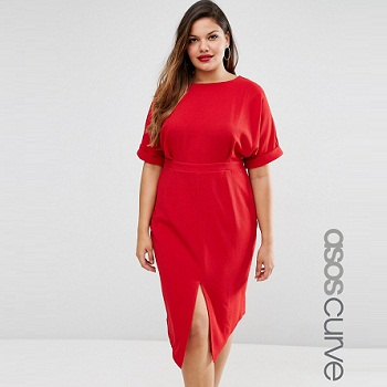 ASOS大码连衣裙 现价$91!