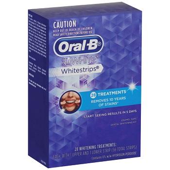 Oral-B 3D 美白牙贴 现价$35.99!
