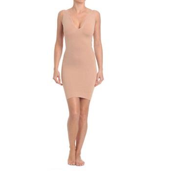 Ambra 裸色连衣裙式紧身衣 现价$20.96!