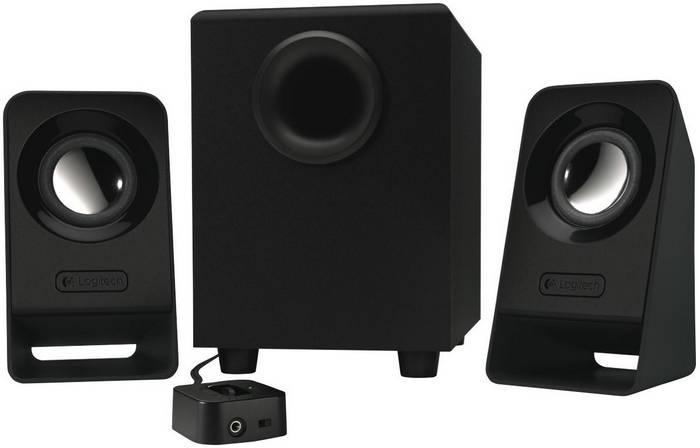 Logitech/罗技 Z213 入门级2.1声道 三件式音箱 折后$21.6!
