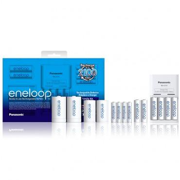 Panasonic/松下 Eneloop 环保可充电电池套装 团购价只要$39