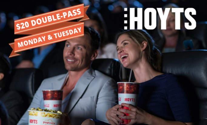 Hoyts 双人电影票 团购价只要$20!
