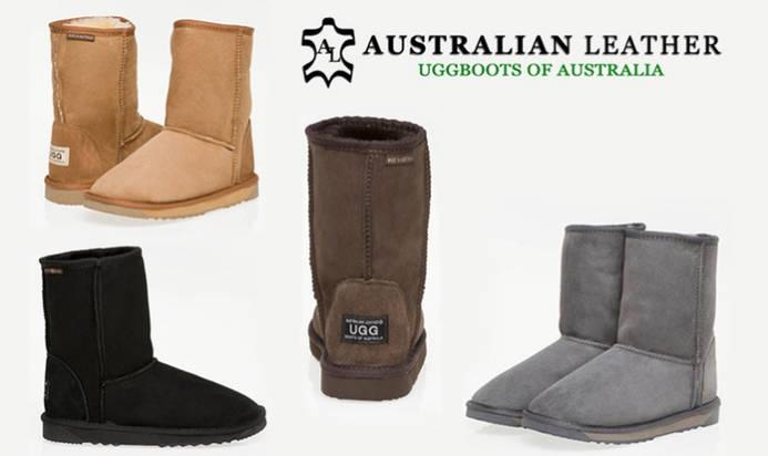 Australia Leather  3/4 经典款UGG 团购价$79!
