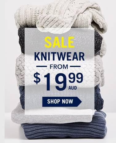 澳洲男装品牌 Connor 特价毛衣仅从$19.99起!