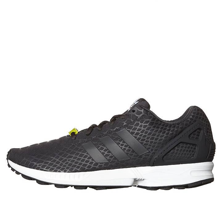 Adidas/阿迪达斯 ZX Flux Techfit 女士时尚休闲运动跑步鞋-黑白色 折后$97.5!