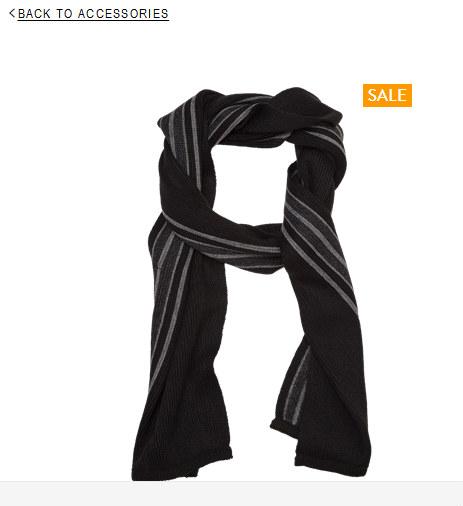 Tarocash米兰条纹围巾  $19.99