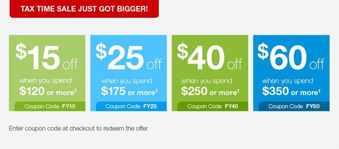 办公用品特卖网站Staples财年末满减活动:最多立减$60!