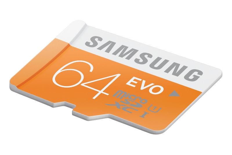 Samsung/三星 64GB Evo micro SD 存储卡  只要$19.99!