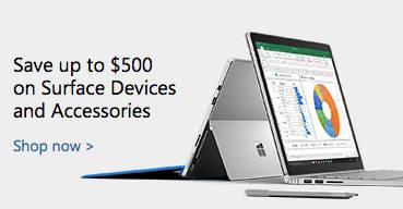 微软澳洲官网年中活动:Surface Book 及 Surface Pro 4 最高减500刀!