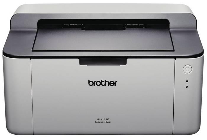 Brother HL-1110 单色激光打印机 只要$36!